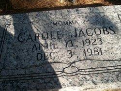 Carole <i>Jones</i> Jacobs