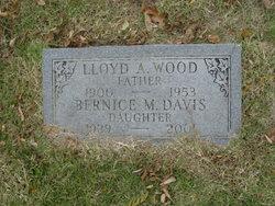 Bernice M. <i>Wood</i> Davis