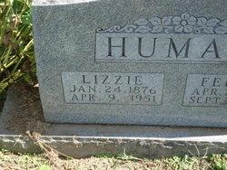Sarah Elizabeth Lizzie <i>Slagle</i> Human