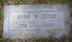 Annie <i>White</i> Sevier