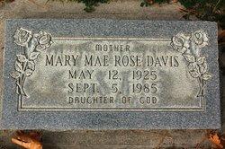 Mary Mae <i>Rose</i> Davis