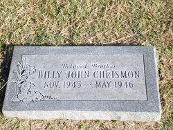 Billy John Chrismon