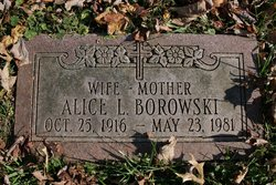 Alice Louise <i>Paull</i> Borowski