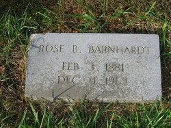 Rose Elizabeth <i>Blackwelder</i> Barnhardt