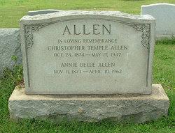 Annie Belle <i>Alley</i> Allen