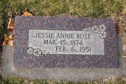 Jessie Annie Rose