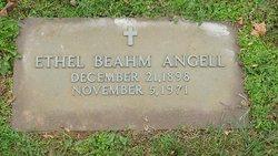 Ethel <i>Beahm</i> Angell