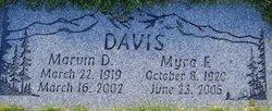 Myra E Davis