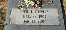 Effie <i>Trowell</i> Flowers