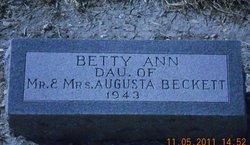 Becky Ann Beckett