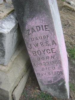 Zadie Boyce