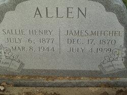 Sallie <i>Henry</i> Allen