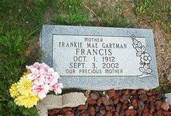 Frankie Mae <i>Gartman</i> Francis