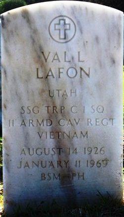 Sgt Val Lyndon Lafon
