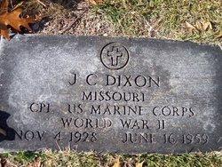 J. C. Dixon
