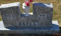 Marie B. <i>Bunde</i> Bates