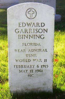 Adm Edward Garrison Binning