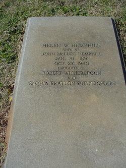 Helen <i>Witherspoon</i> Hemphill