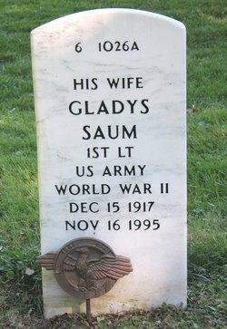 Lieut Gladys Saum
