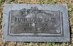 Ruth <i>Loyd</i> Lacy