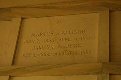 Martha Sarah <i>Dole</i> Allison