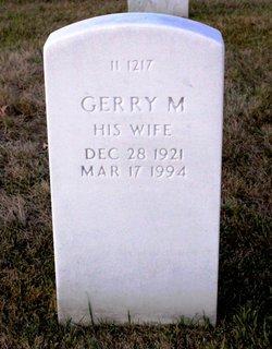 Geraldine Mildred Gerry <i>Armstrong</i> Ervin
