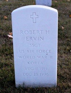 Robert H Ervin