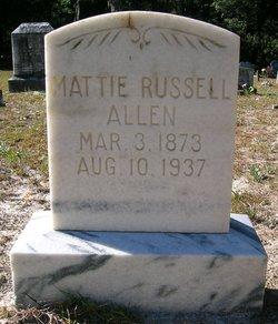 Mattie Russell Allen