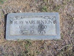 Ruby Helen <i>Ware</i> Benton