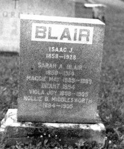 Sarah Ann <i>Cundiff</i> Blair