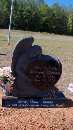 Mary <i>Sessions</i> Oldham
