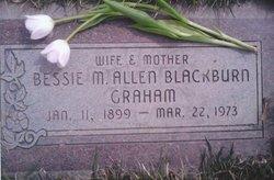 Bessie Mae Allen <i>Blackburn</i> Graham