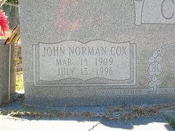 John Norman Cox