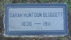 Sarah <i>Huntoon</i> Blodgett
