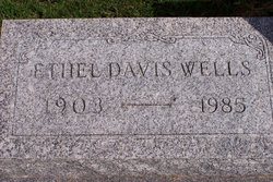 Ethel <i>Curtis Wells</i> Davis