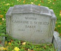 Caroline E <i>Schultz</i> Baker