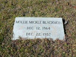 Mary Rebecca <i>Mickle</i> Blackmon
