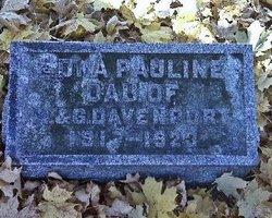 Edna Pauline Davenport