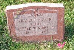 Frances <i>Micetic</i> Nibbelin