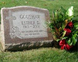 Esther Delores <i>Ollar</i> Goushaw
