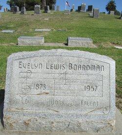 Evelyn F <i>Lewis</i> Boardman