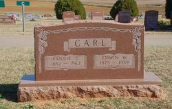 Fannie E. <i>Gunter</i> Carl