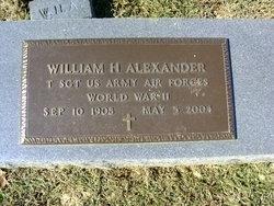 William H Alexander
