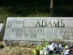 Warren Tanner Buster Adams