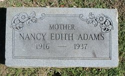 Nancy Edith Adams