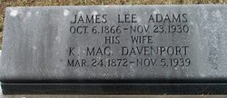 K Mac <i>Davenport</i> Adams