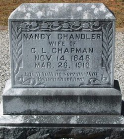 Nancy <i>Chandler</i> Chapman