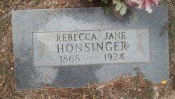 Rebecca Jane Honsinger