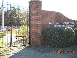 Central Baptist Church Memorial Garden