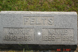 Nancy A Nannie <i>Lee</i> Felts